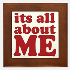 allaboutme Framed Tile
