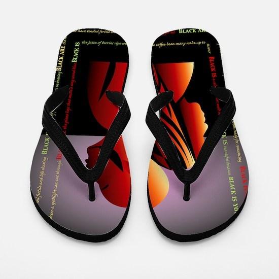 blackis10x10 Flip Flops