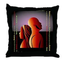 blackis10x10 Throw Pillow