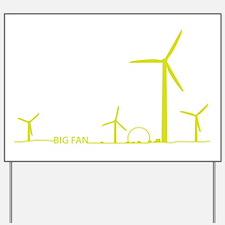 5-Big Fan Yard Sign