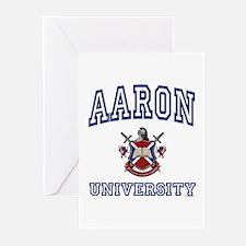 AARON University Greeting Cards (Pk of 10)