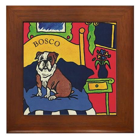 Custom Bosco Framed Tile