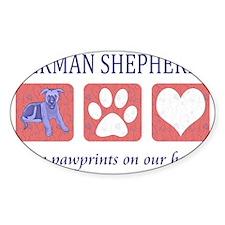 FIN-german-shepherds-pawprints-CROP Decal