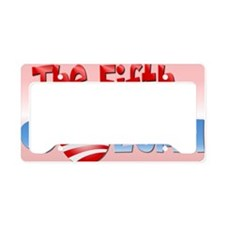 The Fifth Column-Yardsign License Plate Holder