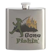 Gone Fishin Flask