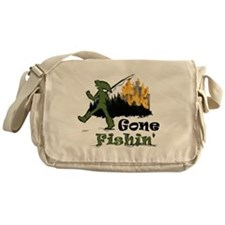 Gone Fishin Messenger Bag