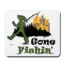 Gone Fishin Mousepad