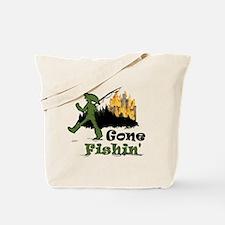 Gone Fishin Tote Bag