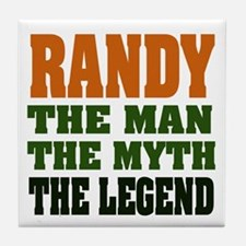 RANDY - the legend! Tile Coaster