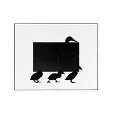 duck ducklings mom love Picture Frame