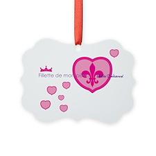 Belle Cadienne T-shirt Art-Fillet Ornament