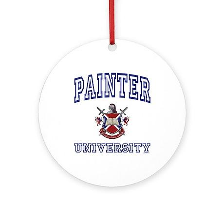 PAINTER University Ornament (Round)