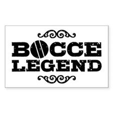 Bocce Legend Decal