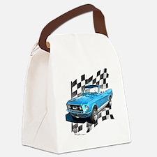 67blue Canvas Lunch Bag