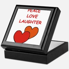 laughter Keepsake Box