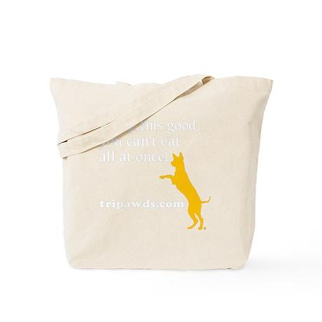 10x10 dogthisgood blk Tote Bag