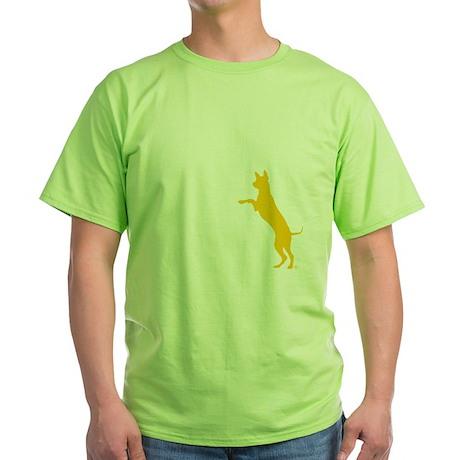 10x10 dogthisgood blk Green T-Shirt