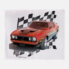 73stang Throw Blanket