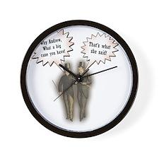 shesaid4 Wall Clock