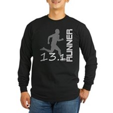 131runner10inBLK Long Sleeve T-Shirt