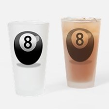 8Ball-000001 Drinking Glass