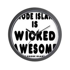 blk_ri_wicked Wall Clock