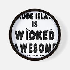 blk_ri_wicked Wall Clock