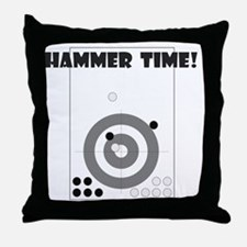 3-HammerTimeLightTee Throw Pillow