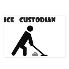 IceCustodianWhite Postcards (Package of 8)