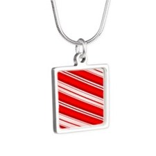 Peppermint Candy Cane Necklaces