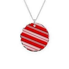 Peppermint Candy Cane Necklace