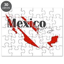 Mexico Diver Puzzle