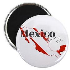 Mexico Diver Magnet