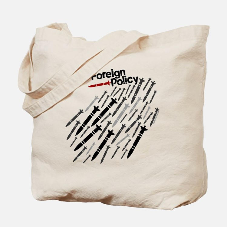 Foreign Policy - Bombs - anti-war shirts Tote Bag