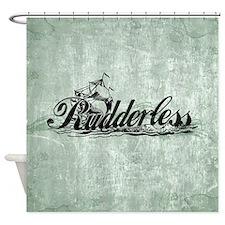 Rudderless Shower Curtain