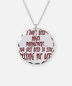 anger-management Necklace
