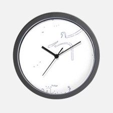 jag thrasher white Wall Clock