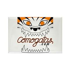 Tiger Logo Rectangle Magnet