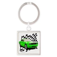 2009challenger Square Keychain