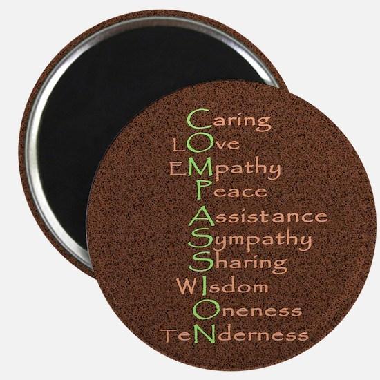 2-compassion tile Magnet