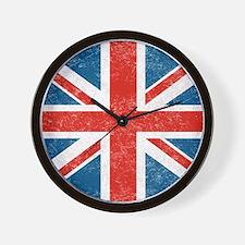 vintage-union-jack-big Wall Clock