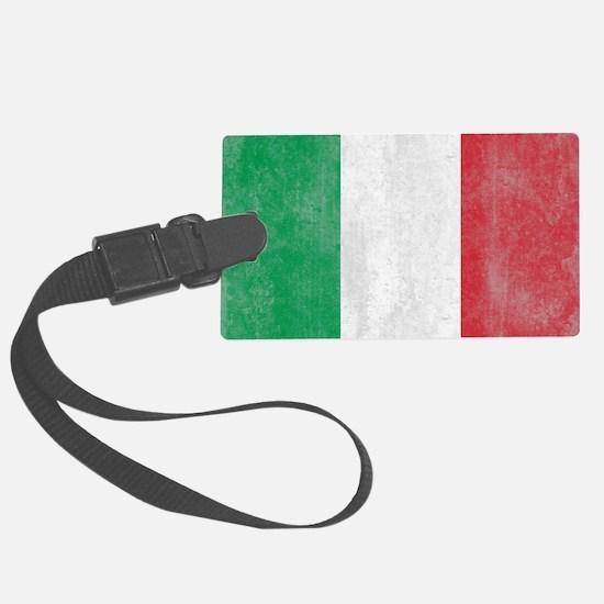 Vintage Italy Flag Luggage Tag