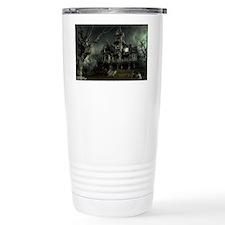 haunted_house_big Thermos Mug