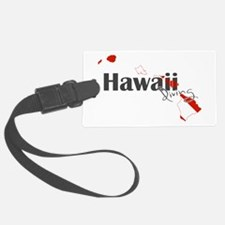 Hawaii Diver Luggage Tag