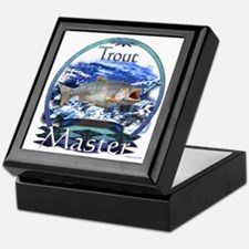 Trout master Keepsake Box
