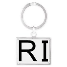RI Landscape Keychain