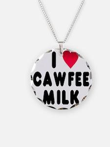 blk_luv_cawfee_milk Necklace