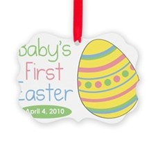 babysfirsteaster Ornament