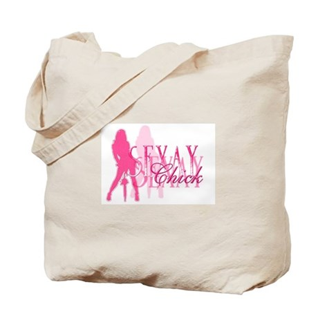 Sexay Chick Tote Bag