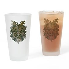Greenman Carving Drinking Glass